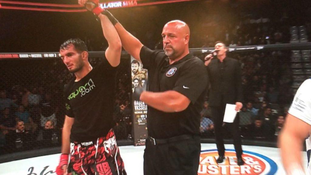 Winst voor Gegard Mousasi bij Bellator-debuut!