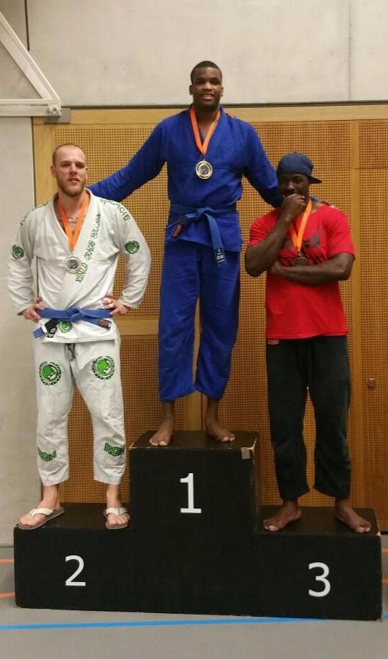 John Winter wint BJJ toernooi in Rotterdam